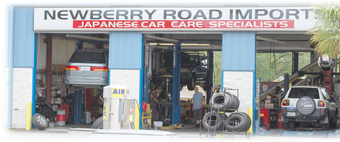 Newberry Road Imports Gainesville FL Service bays